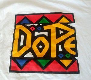 """🌞3/$18🌞 Sz XXL """"Dope"""" white t-shirt"""
